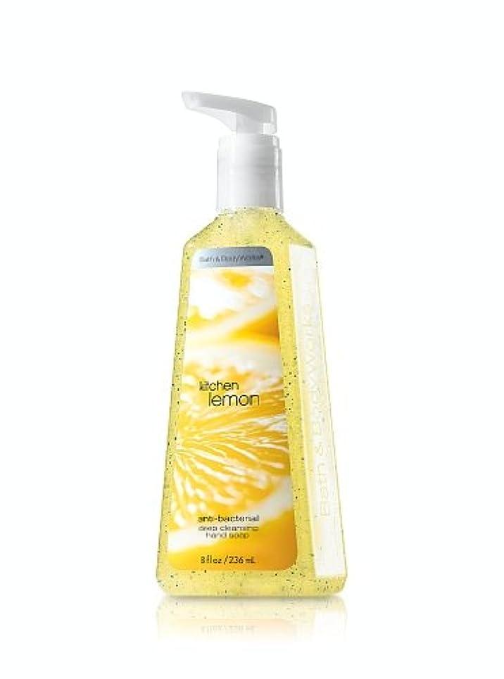オーストラリア人アライアンスいらいらするバス&ボディワークス キッチンレモン ディープクレンジングハンドソープ Kitchen Lemon Deep Cleansing Hand Soap [並行輸入品]