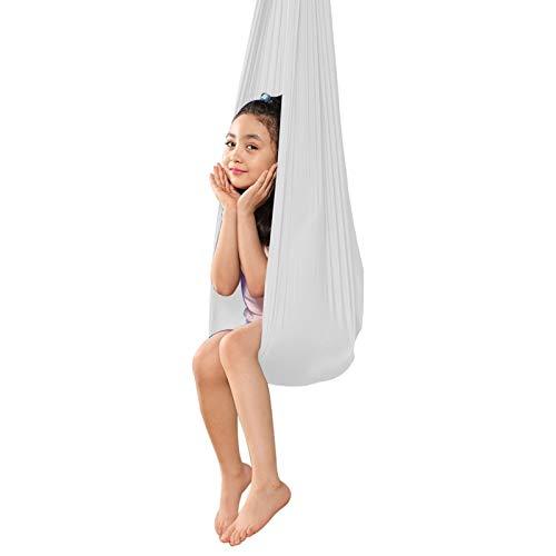 LICHUXIN Hamaca Swing De Terapia Hamaca Yoga Aérea con Capacidad Carga 200Kg Columpio Terapia para Niños Hamaca De Abrazos Ideal para Hamacas de Integración Sensorial