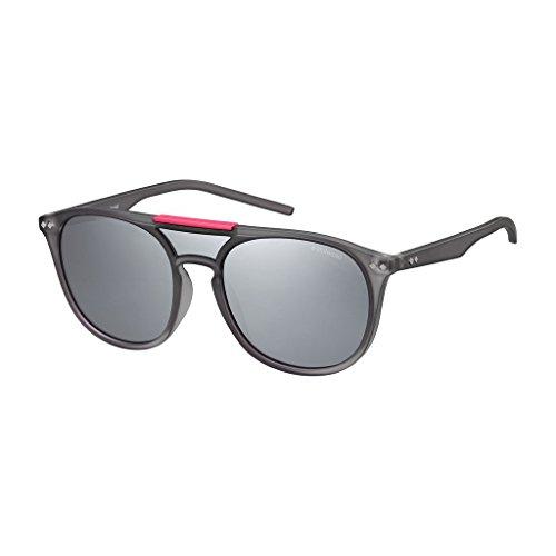 Polaroid Unisex-Erwachsene Pld 6023/S Jb Tjd 99 Sonnenbrille, Grau (Greyilmir)