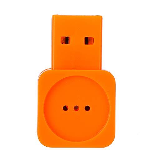 SONK Mini micrófono USB, Micrófono de computadora portátil inalámbrico para computadora portátil/Escritorio Distancia efectiva de 2 m Conecta y Reproduce, Accesorios de computador
