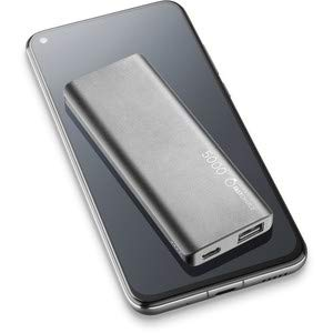 cellularline FreePower Slim 5000 Akkuladegerät Schwarz Lithium Polymer (LiPo) 5000 mAh - Akkuladegeräte (Schwarz, Handy/Smartphone, Lithium Polymer (LiPo), 5000 mAh, USB, 5 V)