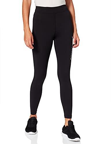 Nike Sportswear Swoosh, Pantaloni Sportivi Donna, Schwarz-Weiss, XS