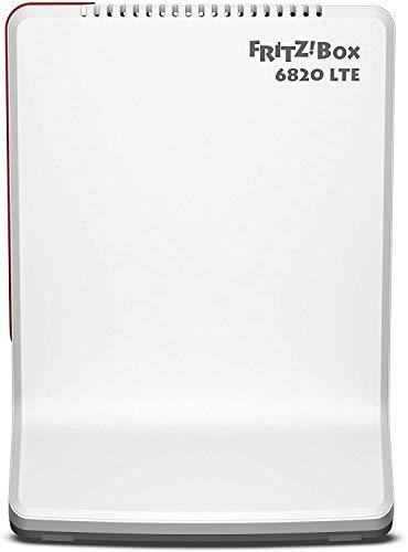 AVM FRITZ!Box 6820 LTE International Modem Router 4G/3G, Slot per SIM, Wi-Fi N 450 Mbit/s, 1 Porta LAN Gigabit, Interfaccia in Italiano