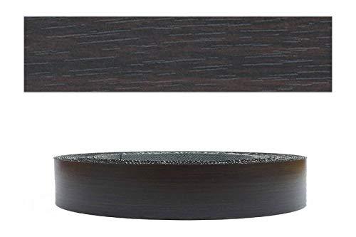 Mprofi MT (5m rollo) Cantoneras laminadas melamina para rebordes con Greve Roble Negro 22 mm