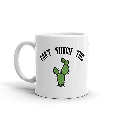 Can't Touch This humoristique Humour en céramique blancs de 311,8 gram en verre Café Thé Mug Tasse