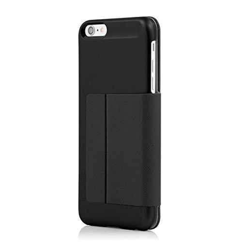 iPhone 6S Plus Case, Incipio Highland Premium Folio [Credit Card] Wallet Folio fits iPhone 6 Plus, iPhone 6S Plus-Black/Black