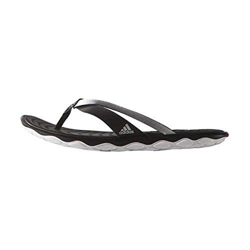 adidas Borama Flex CF Y, Mehrfarbig - Negro / Plateado / Blanco (Negbas / Plamat / Ftwbla) - Größe: 43 1/3