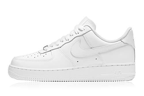 Nike Wmns Air Force 1 '07, Zapatillas de bsquetbol Mujer, Blanco, 40 EU