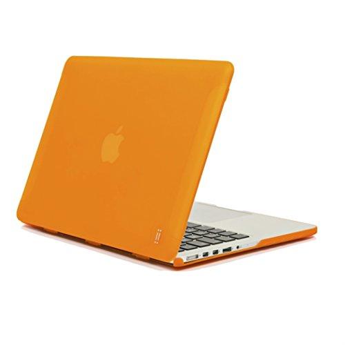 "aiino italian ideas - Funda Mate Compatible con MacBook Pro Retina 13, Modelo A1425, A1502 - Naranja, 13"" (33 cm) (AIMBR13M-ORG)"