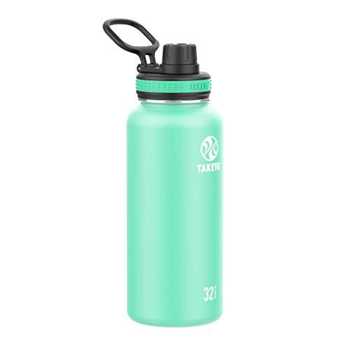 Takeya Originals 32oz Spout Bottle, Soft Grass