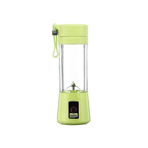 Frullatore portatile da 380 ml Frullatore di ricarica per frullatore elettrico per ricarica USB Frullatore per macchine Mini succhi Macchina per la preparazione di frullatori Frullatore per alimenti
