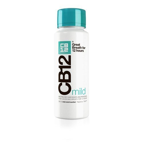 CB12 Mild Mint Menthol Enjuague Bucal - 250 ml