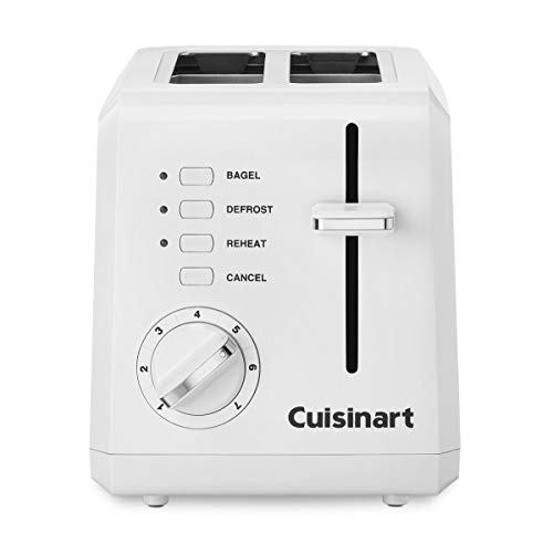 Cuisinart Toaster 2 Slice Cool Touch, Stainless Steel White