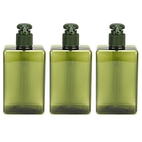 Flüssigseifenflasche, auslaufsichere Reiseflasche Leicht und kompakt zum Spenden von Lotionen, Seifen, Shampoos, Spülungen, Duschgels und Duschgel