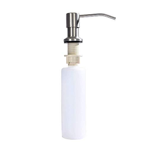 Chiloskit Dispensador de jabón para fregadero, de acero inoxidable, dispensador de jabón de cocina, dispensador de jabón para cocina