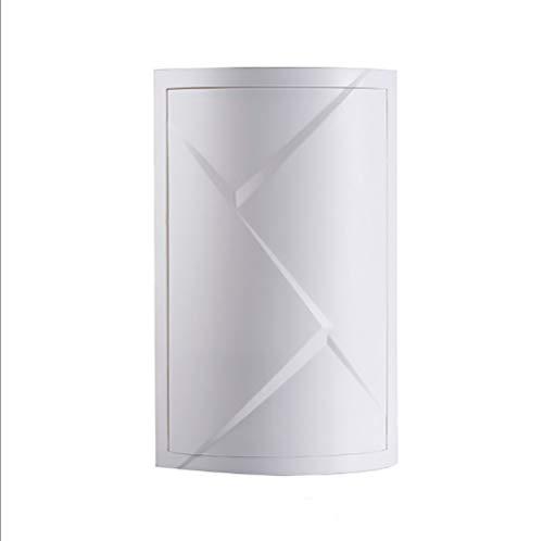 SOYYD 360 grados de rotación del triángulo Estante de baño Cocina Aseo estante de la esquina del estante de almacenamiento en rack rack de baño Gabinete Multi Capa de almacenamiento,Blanco,Singlelayer