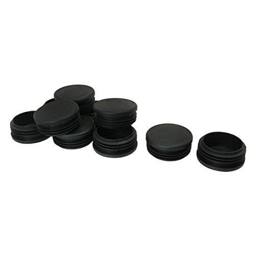 Sourcingmap 50mm 5,1cm OD Kunststoff Rohr fügt Schlauch Ende, 100, Kappen 4,7cm -1.93