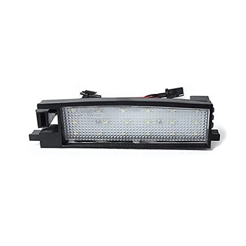 N\C Lámparas de luz de matrícula con número LED de 2 Piezas para T-oyota Rav4 2 3 XA40 Aygo Yaris Corolla Scion iM Auris Avalon Vanguard Camry Solara