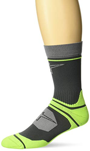 Alpinestars Herren Cascade Socken, Schwarz Acid Yellow, Medium