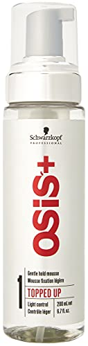 Shenza Mousseur à poser style TOPPED UP Gentle Hold 200 ml