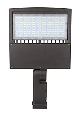 LED Parking Lot Lights, 5000K LED Shoebox Lights, Waterproof IP65, Commercial Area Street Security Lighting Fixture