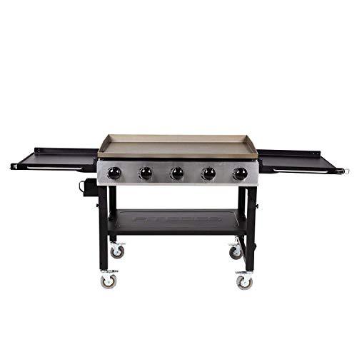 PIT BOSS 10762 5 Burner Gas Griddle, Black