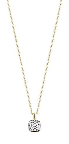 Joop! Damen-mit Anhänger JP-M Pavé 925 Silber teilvergoldet Zirkonia weiß 42 cm-JPNL90769E420