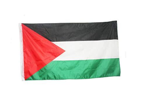 AccessCube Protest Grote Palestijnse Polyester Vlag 150 x 90 cm Gaza Palestijnse Office Parade Festival Home Decoratie Vlag Banner