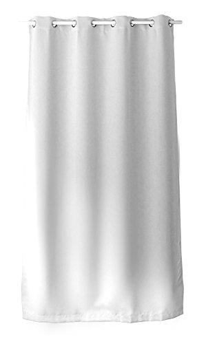 Enjoy Home Rideau Occultant avec 8 Oeillets Polyester Blanc 140x240 cm