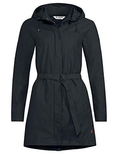 VAUDE Damen Women's Sabora Coat, Sommermantel Jacke, Phantom Black, 40