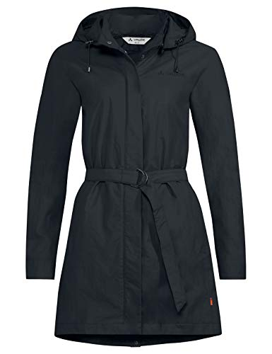 VAUDE Damen Women's Sabora Coat, Sommermantel Jacke, Phantom Black, 40