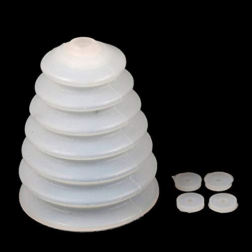 #N/V Taladro de goma colector de polvo cubierta martillo eléctrico cuenco de fresno a prueba de polvo dispositivo de taladro de herramientas eléctricas accesorios