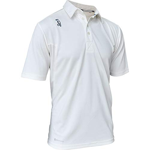 Kookaburra Cricket-Shirt Pro Player XXL cremefarben