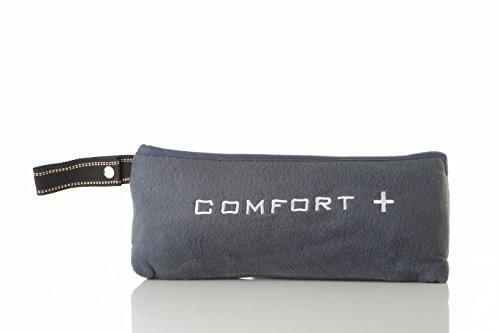 Comfort Plus 3-in-1 Premium Travel Blanket (Charcoal)