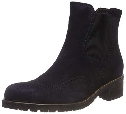 Gabor Shoes Damen Comfort Basic Chelsea Boots, Blau (Nightblue (Mel.) 36), 39 EU