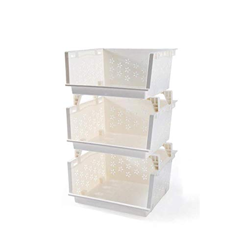 Storage Basket Panier à légumes multi-couches pour légumes et fruits (dimensions : 42 × 34 × 68 cm)