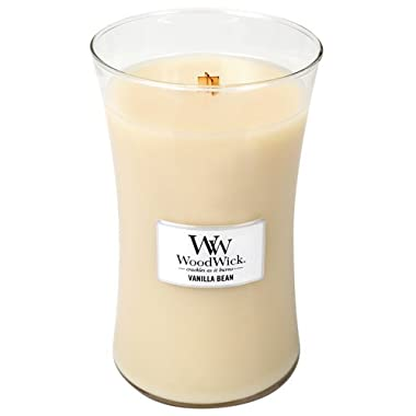 Vanilla Bean Woodwick Jar Candle - 21.5 oz.