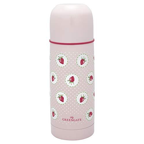 GreenGate THEBOT03LSTB1906 Strawberry Thermoflasche Pale pink 300 ml (1 Sück)