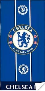 Chelsea F.C. Toalla de Playa 70 x 140 cm, Color Azul