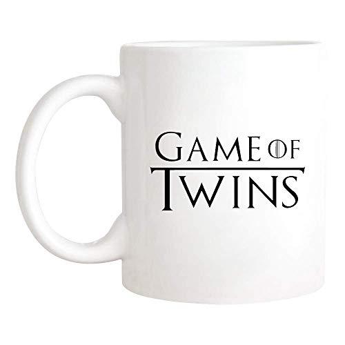 N\A Taza de Juego de Gemelos, Taza de mamá de Gemelos, Taza de mamá de Gemelos, Gemelos de bebé, Taza/Taza de café novedosa