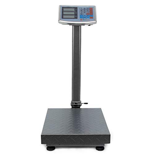 AgoraDirect - Báscula Industrial De Plataforma 250kg/20g, P