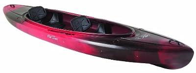 Old Town Canoes & Kayaks Twin Heron Tandem Kayak, Black Cherry from Old Town Canoes & Kayaks