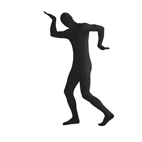 MICHAELA BLAKE Halloween Kostüme anzeigen Spandex Body Full Body Zentai hauteng Spandex-Anzug Ganzkörper-Anzüge Lycra-Kostüm-Abendkleid Schwarz XXL