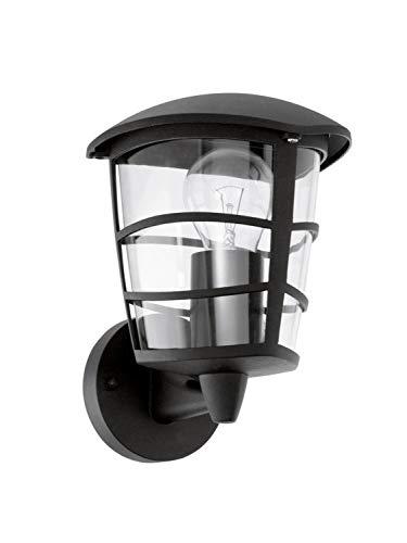 Eglo 93097 Lanterne, aluminium, E27, noir