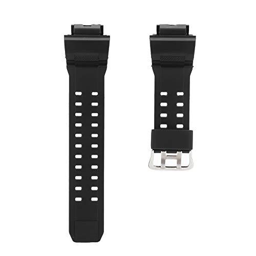 ZJchao Pulseira de relógio de substituição de borracha macia de silicone de liberação rápida, pulseira de relógio de poliuretano de resina adequada para G Shock Gw9400
