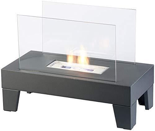 Carlo Milano Kamine: Bio-Ethanol-Lounge-Dekofeuer, 60 x 45 x 30 cm, bis 60 Min. Brenndauer (Ethanol-Kamin-Ofen)