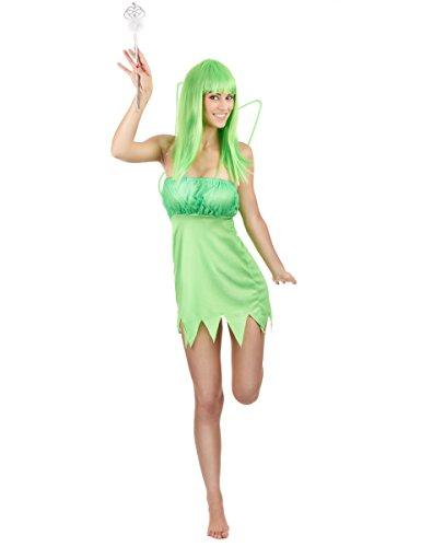 Déguisement fée verte femme - Medium