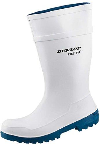 Dunlop Dunlop Purofort Lady Safety mit Stahlkappe für den Lebensmittelberich EN 345-S4, Gummistiefel in weiß, 40