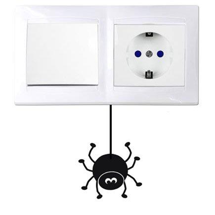 Vinilo Araña interruptor. Thermodernizate
