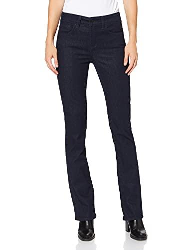 NYDJ Billie Boot Cut Jeans Bootcut, Blu (Rosa), 8W x 33L Donna